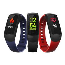 Government health program experience blood oxygen smart health bracelet heart rate smart watch health smart bracelet