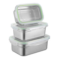Cheap Price Stainless Steel Lunch Box Food Storage Container Bento Box