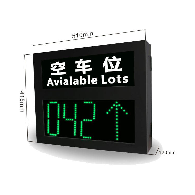 Stelling Kleine Digitale Led Display Outdoor Display Screen Voor Parking Self-Service Management Systeem