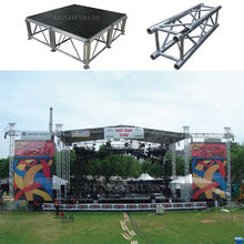 Mobile on Sale Concert Lighting Truss with Stage