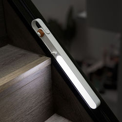 Modern Movable Portable Magnetic Attraction Reading Battery Led Wall Light
