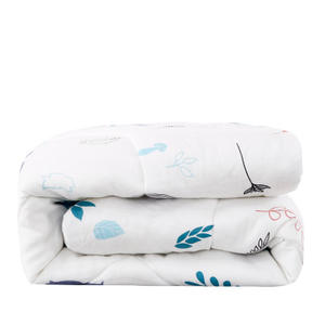 100% Cotton baby Quilt super soft Double layer yarn Printed Feather silk cotton Comforter