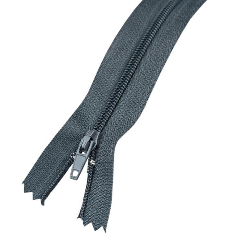 20 colors 9 Inch size high quality Nylon Coil grey Zippers roll Bulk for Tailor Sewing Crafts