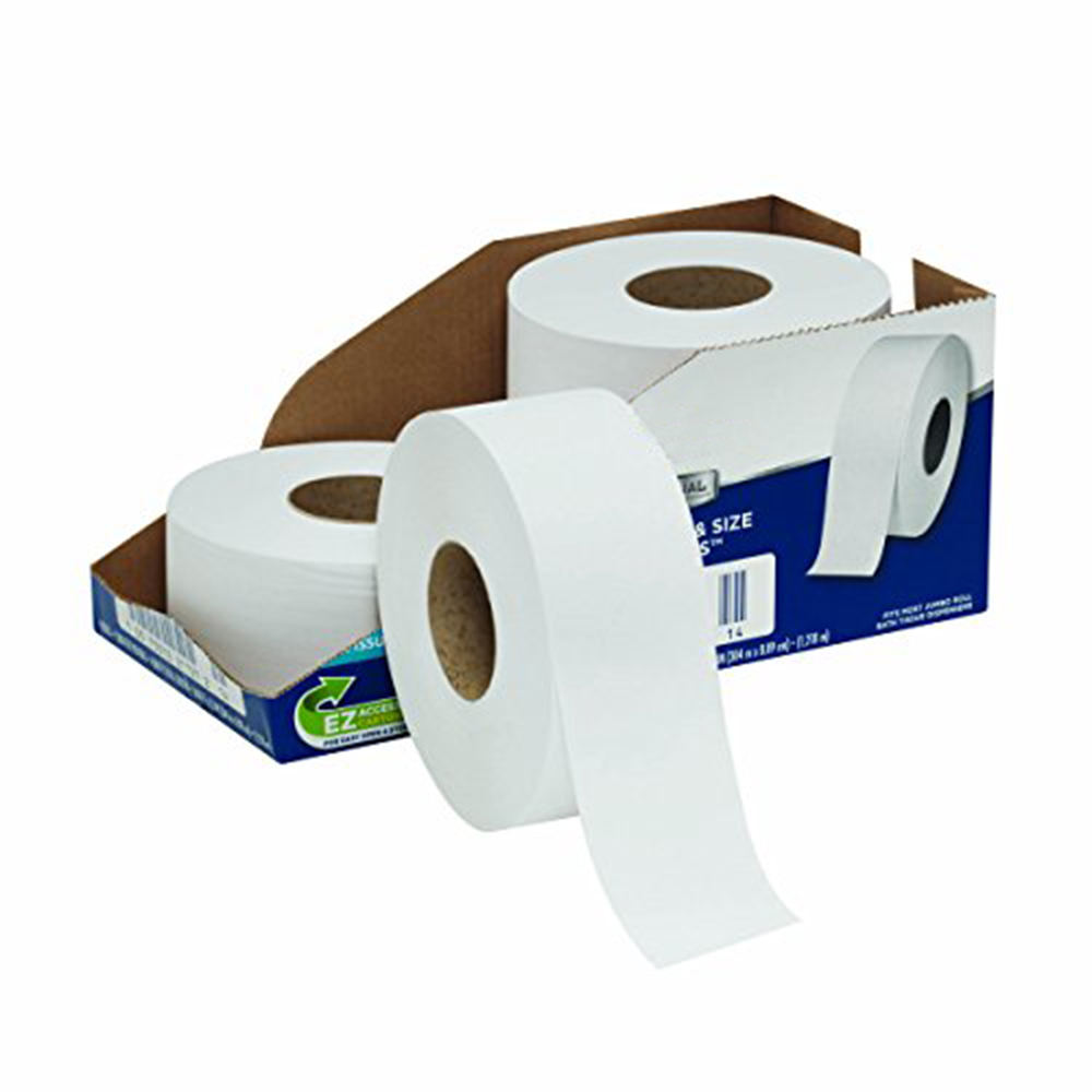 Best China Tissue Manufacturer Jumbo Economy Commercial 2-Ply Toilet Paper Rolls