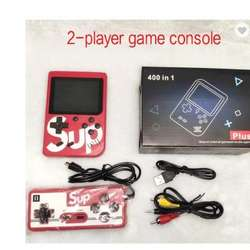 Factory Sale Retro Video Gaming Console TV Classic Game Player Built in 400 Games Handheld Console With AV Cable