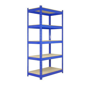 Adjustable 5 tiers blue display rack stand heavy duty metal display shelf with 6 colors welcome customized