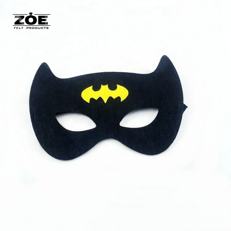 China Suppliers Best Selling Halloween Party felt Eye Masks