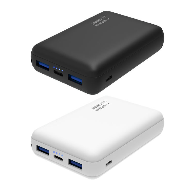 2020 Best selling Portable power bank, Power bank mobile charger ,PD 18W QC3.0 dual USB wallet 10000 mah fast charger