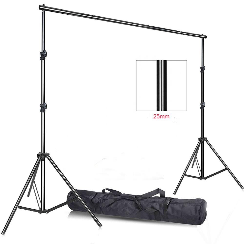 2.8x3 m 배경 서 Photo Video Studio Heavy Duty 배경으로 Support System Kit 대 한 Photography 배경 서