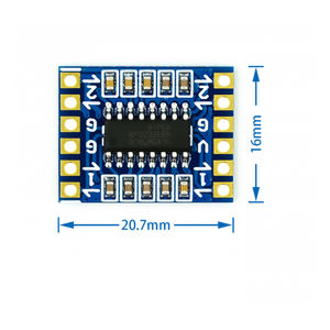 RS232 SP3232 TTL to RS232 Module RS232 to TTL Brush Line Serial Port Module