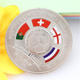 High Quality Factory Direct Price Football Coin Argentina And Brasil Coin