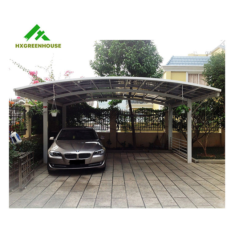 hot sale M-style cottage car port /shed for parking two cars HX114