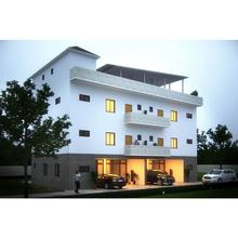 Modular cement installation house student dormitory luxury accommodation hotel mansion prefabricated school apartment building