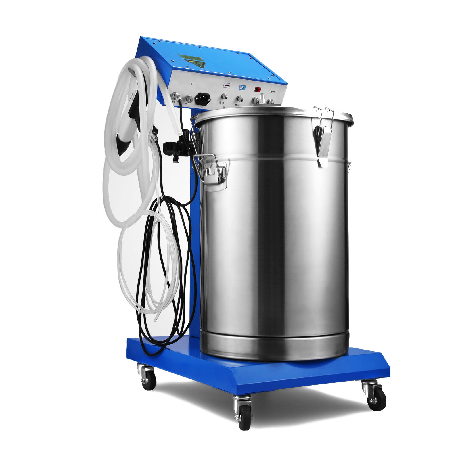 WX-958 Manual 45L Volume Powder Coating Machinery