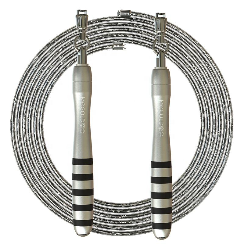 AONFIT Deluxe Speed Jump Rope with 2 Ropes, Crossfit Jump Rope Workout for Women Or Men Gift