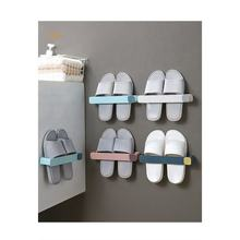 Wall Mounted Household Slipper Holder Shelf for Bathroom Cabinet