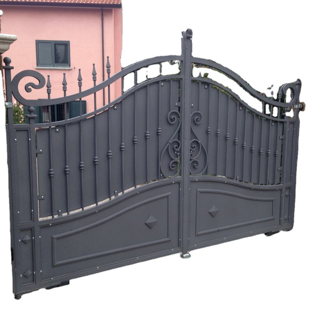 Home Furniture Top Quality 100 % Made In Italy Galvanized Iron Outdoor Gates