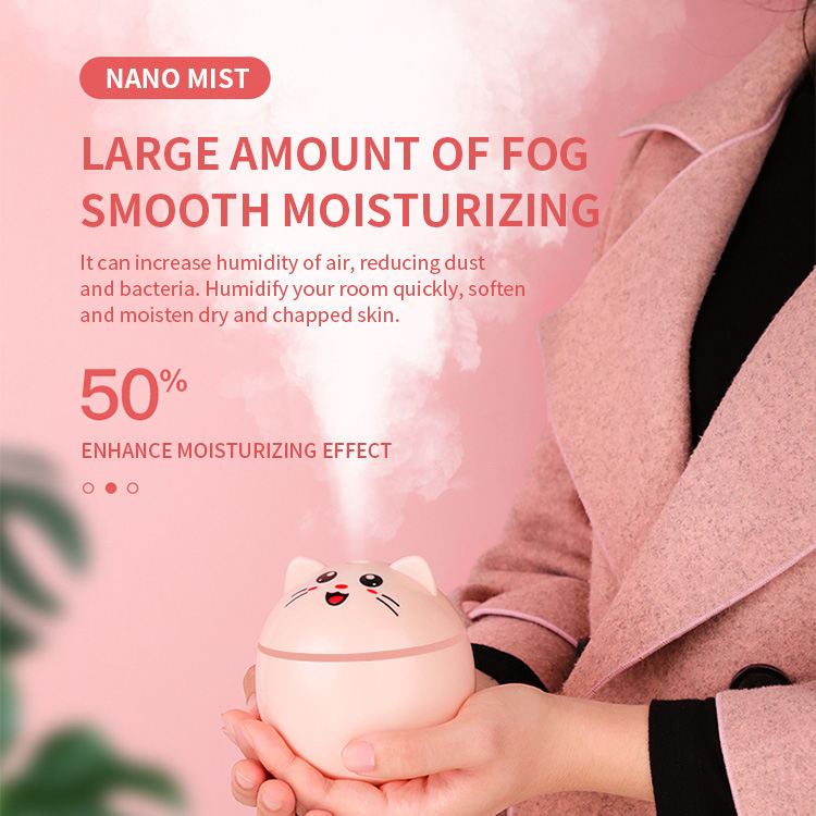 Automatic Aromatherapy Diffusers USB Aroma Essential Oil Diffuser Humidifier for Car