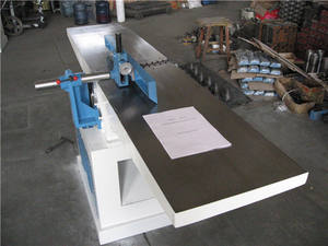 Jointer Industri Mesin Kayu Jointer Planer Permukaan Tunggal Planer untuk Furniture MB503