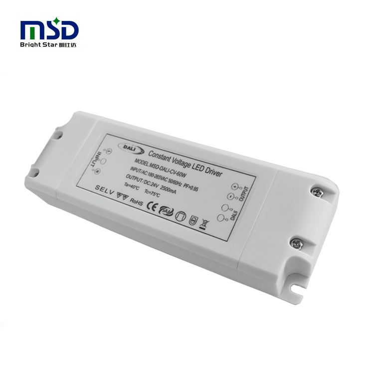 60W 24V DALI LED DRIVER strip led driver power supply