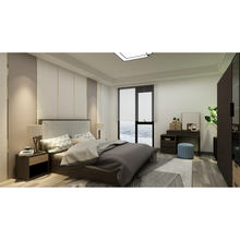 Modern Hotel Residential Projects Full House Furniture Complet Bedroom Set Living Room Set