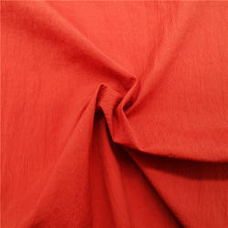 spandex crepe nylon taffeta blended with cotton and wrinkle