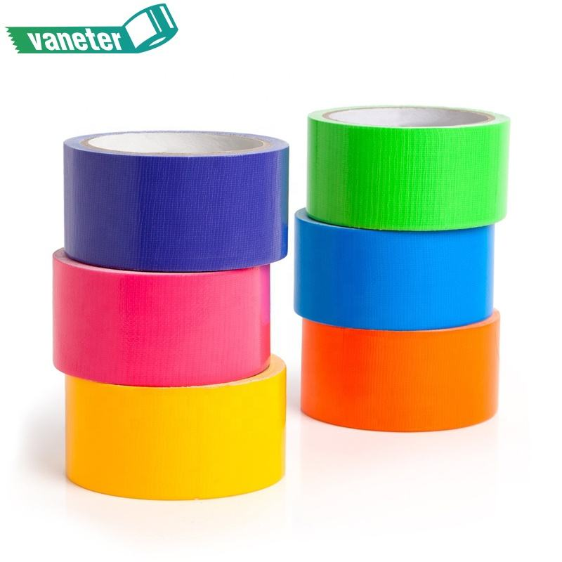 Multicolor Heavy Duty Adhesive Cloth Tape, Waterproof Adhesive Tape Cloth Duct Tape