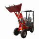 Battery Operated 4 Wheel Drive Electric Cheap Mini farm skid steer front end wheel Loader for sale Made in China