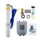 DC48v 72v 750w 1hp solar powered submersible water pump for irrigation for home use