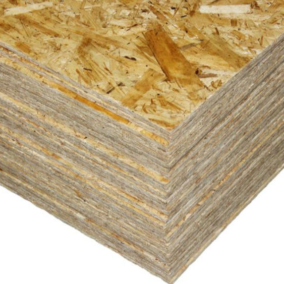 Oriented strand board OSB
