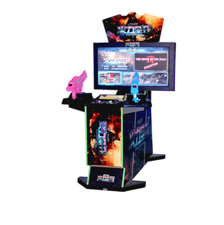 Drie In Een Game Ultra Fire Power/Aliens/Paradijs Verloren Arcade <span class=keywords><strong>Schieten</strong></span> Video Game Machine