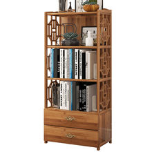 Wholesale and Retail Simple Antique Chinese BookCase Bamboo and Wood