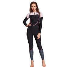 Women lycra Full Body Front Zipper Stinger Suit UPF 50+ Bathing Suit Quick Dry One Piece Swimsuit