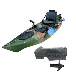 Vicking lldpe plastic kayak fishing kayak with electric motor canoe sit on top kayak for sale