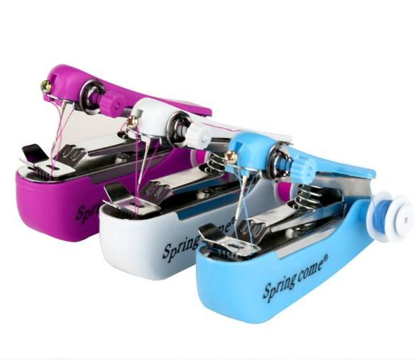 Handy use portable hand stitch household Mini Sewing Machine with needle