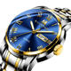 730 Quartz Stainless Steel wrist Watch simple Fashion Men's Watches diver Luxury Brand Cool Men Relojes para hombres Wristwatch
