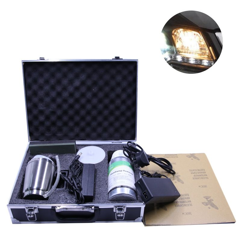 Cup Coating Headlight Headlight Repair Renovation Renew Kits with Heating Cup