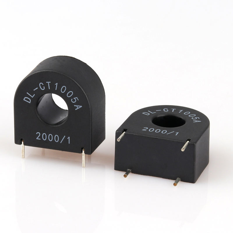 High quality miniature Current Transformer DL-CT1005A 10A/5mA 2000/1 PCB type current transducer for current measure