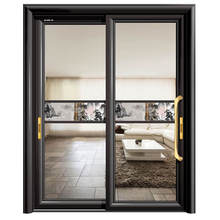 DIAOSI 83 Musang Aluminum Top Hung Glass Sliding Door Double Track Sliding Door
