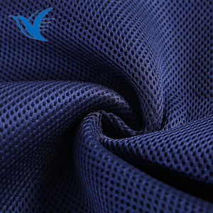 New product soft 100% polyester 3d sandwich mesh air mesh fabric for shoes seat covers backpack