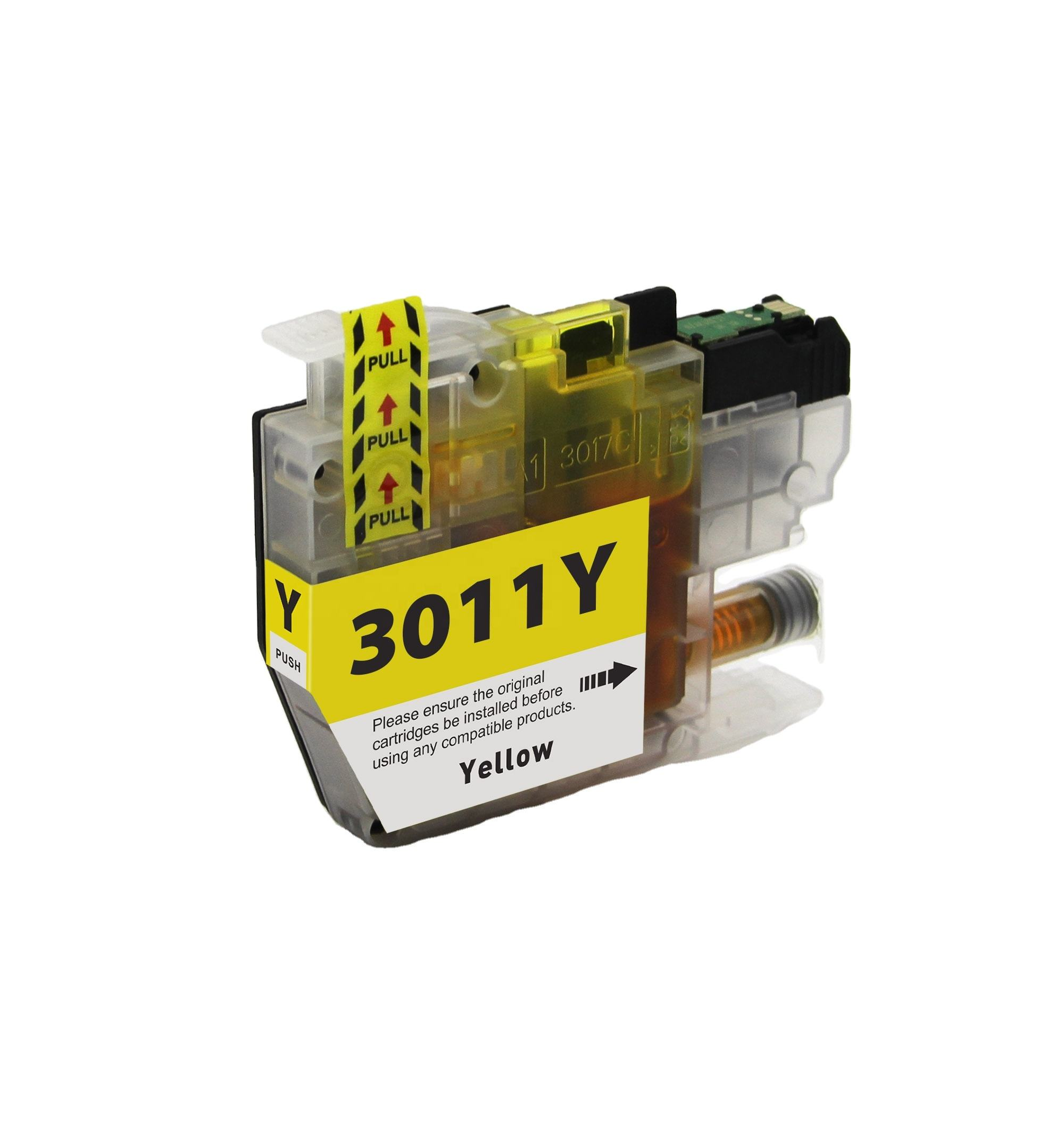 Compatible ink cartridge LC3011 for brother use in MFC-J491DW / MFC-J497DW / MFC-J690DW / MFC-J895DW printer wholesale black