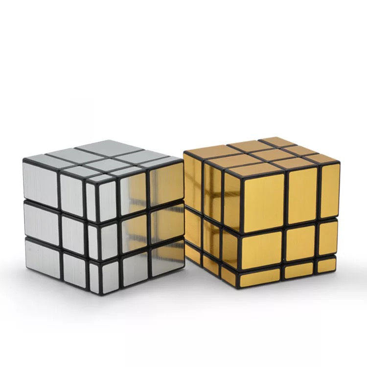 2019 Factory sale Speed 3x3x3 ABS plastic Professional decompressed puzzle game toy irregular mirror cube