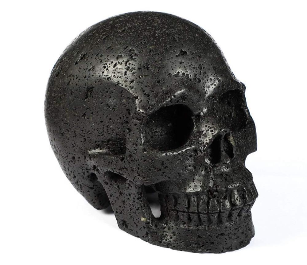 Various Engraved geode decor agateamethyst decoration head for sale Halloween crystal skull