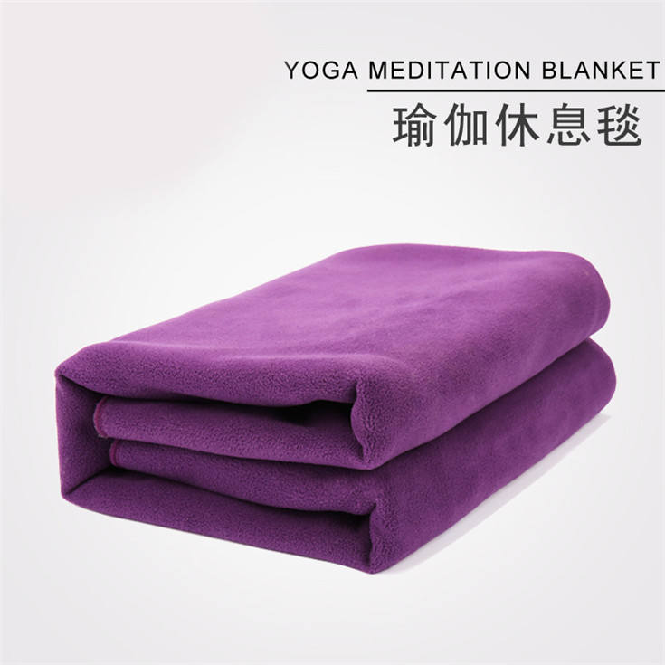 Hospital Blanket [ Yoga Blanket ] Aonfit Factory Hot Sale Top Quality Organic Wool Yoga Blanket