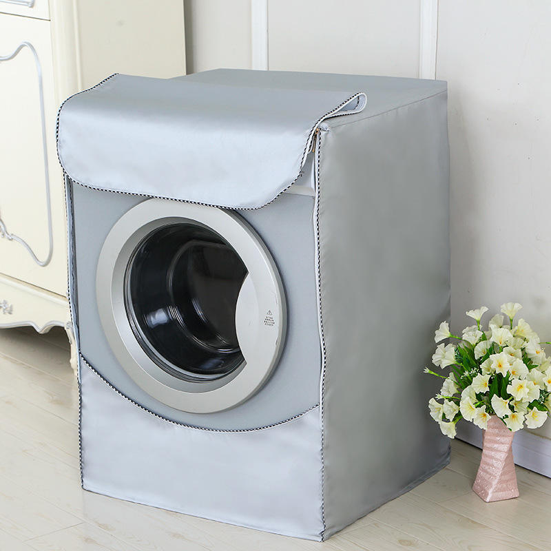 Waterproof Dustproof Washer Dryer Cover Washing Machine Cover For Front-loading Machine