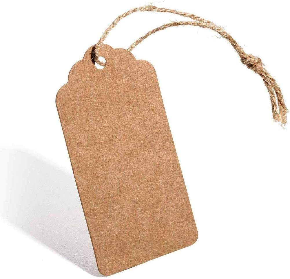 Kraft Paper Gift Tags High Quality Kraft Card Paper for wedding favour tags, gift tags or other place name cards
