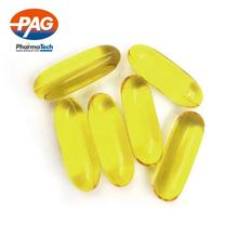 High Quality Support Brain Health Cold Press Refining Flaxseed Oil Softgel Capsules