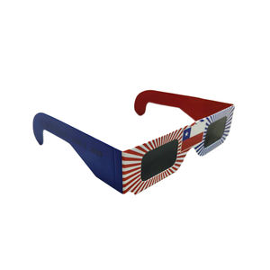 2020 Wholesale Customized OEM Printing Paper Solar Eclipse Glasses for Science