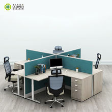Foshan office furniture modern office cubicle workstation 32mm thickness
