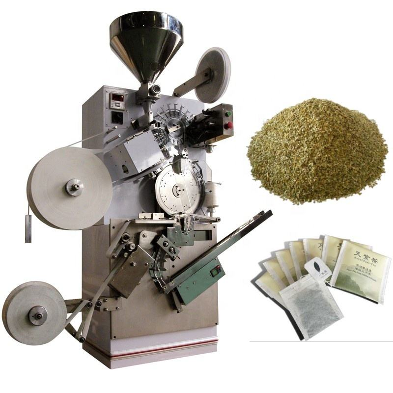 Teabag Crushed Tea Pouch Sachet Filling Packaging Machine